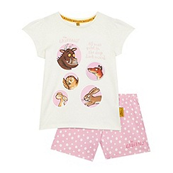 The Gruffalo - Girls' pink Gruffalo pyjama set