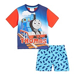 Thomas & Friends - Boys' blue Thomas & Friends print pyjama set