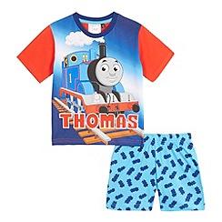 Thomas & Friends - Boys' blue Thomas & Friends print pyjama set