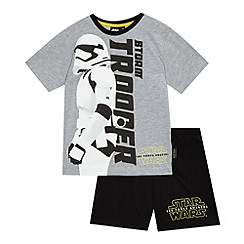 Star Wars - Boys' grey 'Storm trooper' pyjama set