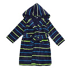 bluezoo - Boys' blue striped dressing gown