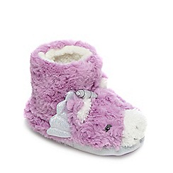 bluezoo - Pink unicorn slipper boots