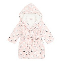 bluezoo - Girls' pink sheep print dressing gown