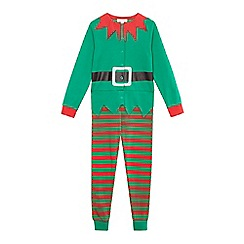 bluezoo - Boys' green elf suit all-in-one