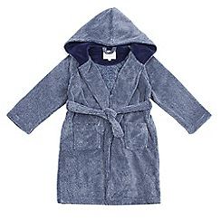 J by Jasper Conran - Boys' blue marl dressing gown