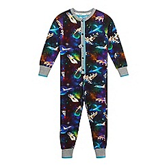 Baker by Ted Baker - Boys' multi-coloured space print all-in-one