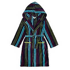 Baker by Ted Baker - Boys' multi-coloured striped dressing gown