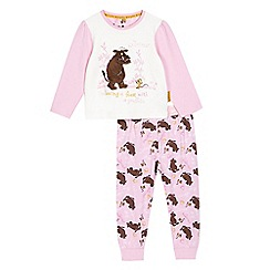 The Gruffalo - Girls' pink 'Gruffalo' pyjama top and bottoms set
