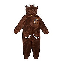 The Gruffalo - Boys' brown 'Gruffalo' all-in-one
