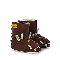The Gruffalo - Brown 'Gruffalo' slipper boots