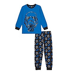 Star Wars - Boys' blue and black 'Star Wars' pyjama set