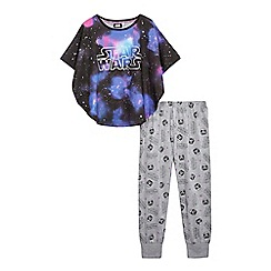 Star Wars - Girls' multi-coloured 'Star Wars' print pyjama set