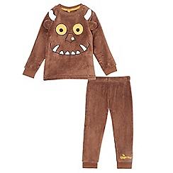 The Gruffalo - Boys' brown 'Gruffalo' pyjama top and bottoms set