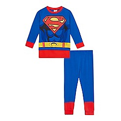 Superman - Boys' blue 'Superman' dress-up outfit