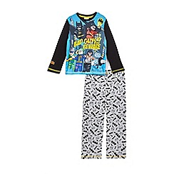 DC Comics - Boys' black Lego Batman pyjama set