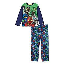 LEGO - Boys' blue 'Ninjago' print pyjama set