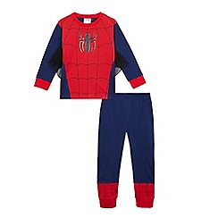 Superman - Boys' red 'Spider-Man' dress up outfit
