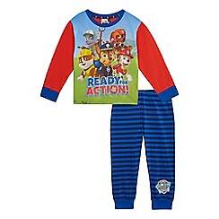 Paw Patrol - Boys' multi-coloured 'Paw Patrol' pyjama top and bottoms set