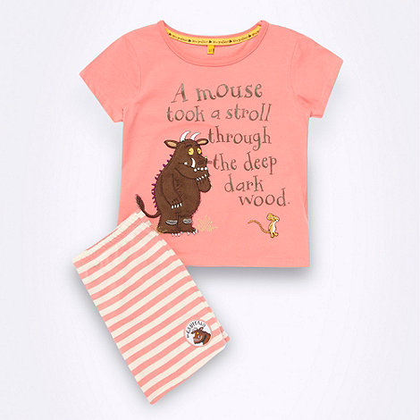 The Gruffalo - Girl+s pink +Gruffalo+ shortie pyjamas