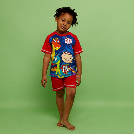 Mike the Knight - Boy's red 'Mike the Knight' pyjamas