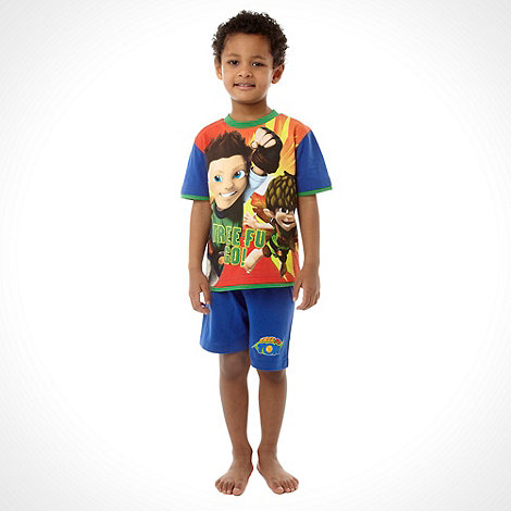 Tree Fu Tom - Boy+s blue +Tree Fu Tom+ short pyjama set