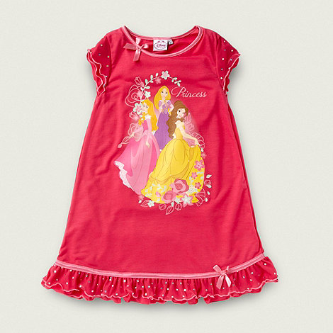 Disney - Girl+s pink +Disney Princess+ nightie