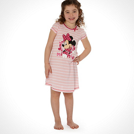Disney - Girl+s pink +Minnie Mouse+ night dress