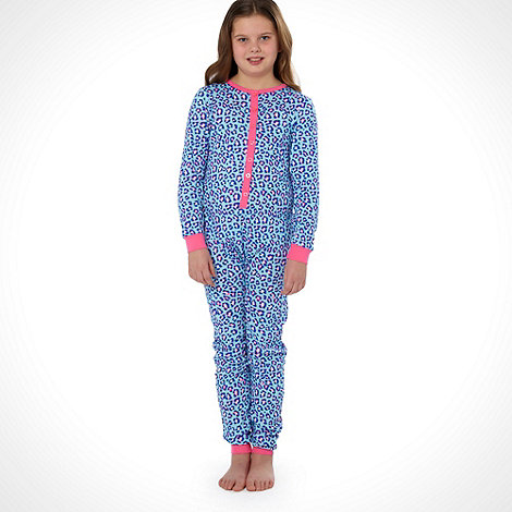 bluezoo - Girls+s 2 pack light blue  onesie