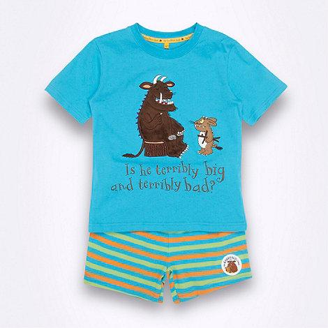 The Gruffalo - Boy+s blue +Gruffalo+ pyjamas