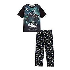 Star Wars - Boys' black 'Rogue One' pyjama set