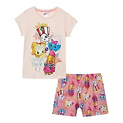 Shopkins - Girls' pink 'Shopkins' pyjama set