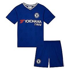 Chelsea - Boys' blue 'Chelsea' shirt and shorts set