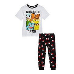 Pokemon - Boys' black 'Pokemon' pyjama set