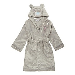 Tatty Teddy - Girls' grey 'Me To You' bear hooded dressing gown