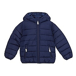 Debenhams - Boys' navy padded coat