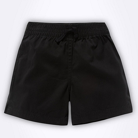 Debenhams - Boy+s black twill school uniform shorts