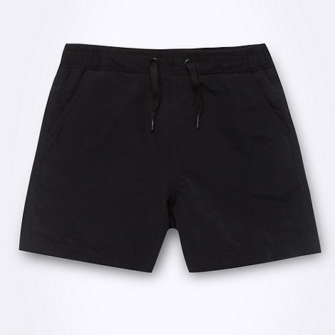 Debenhams - Boy+s black essential board shorts