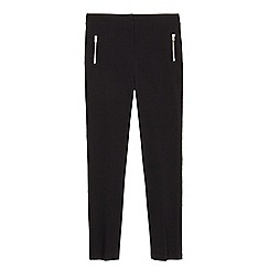 Debenhams - Girls' black skinny school trousers