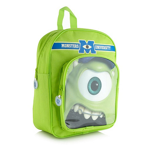 Monsters University - Boy+s green +Monsters University+ backpack