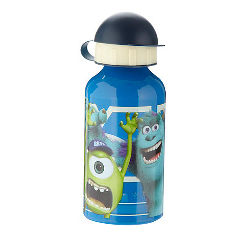 Monsters Inc - Boy+s blue +Monsters Inc+ water bottle