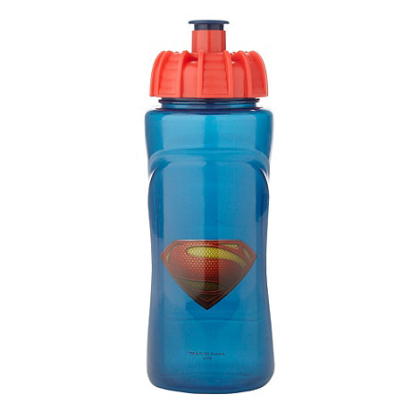 Superman - Boy+s blue +Superman+ drinks bottle