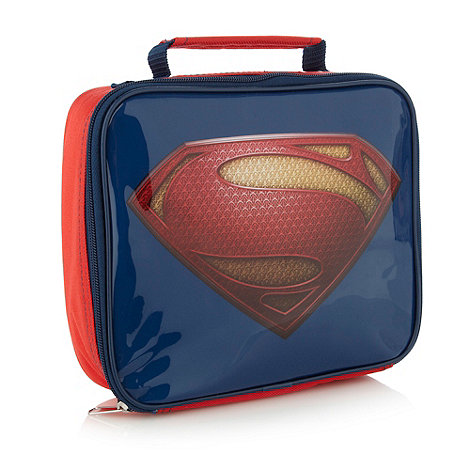 Superman - Boy+s blue +Superman+ lunch bag