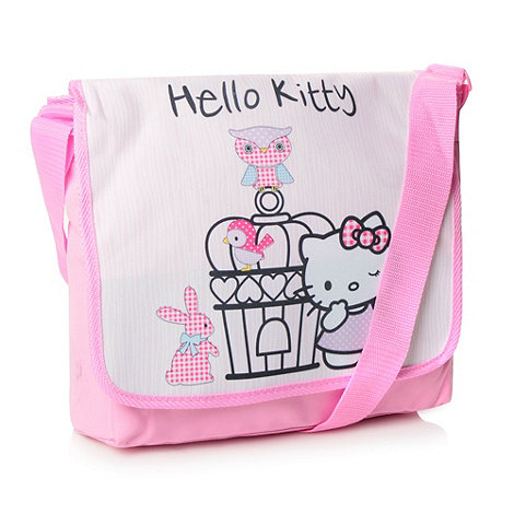 Hello Kitty - Girl+s pink +Hello Kitty+ cross body bag