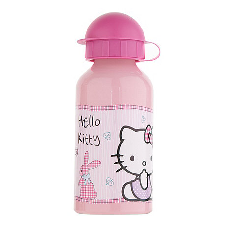 Hello Kitty - Girl+s pink +Hello Kitty+ water bottle