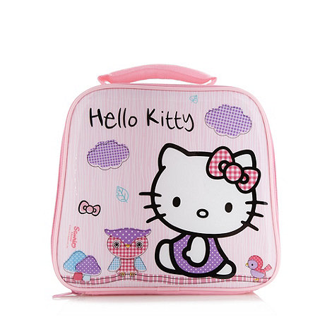 Hello Kitty - Girl+s pink +Hello Kitty+ lunch bag