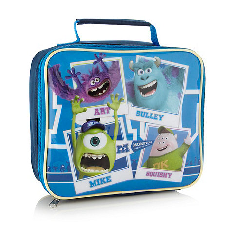 Monster - Boy+s blue +Monsters Inc+ lunch bag