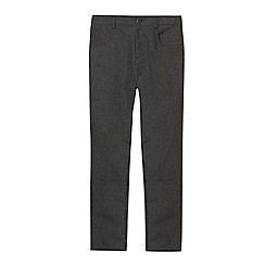 Debenhams - Boy's grey slim school trousers