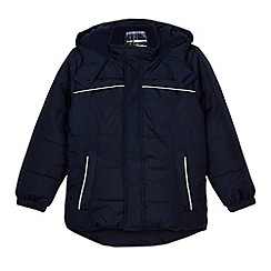 Debenhams - Boy's navy padded school jacket
