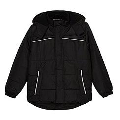 Debenhams - Boy's black padded school jacket