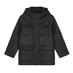 Debenhams - Boy's grey four pocket school jacket